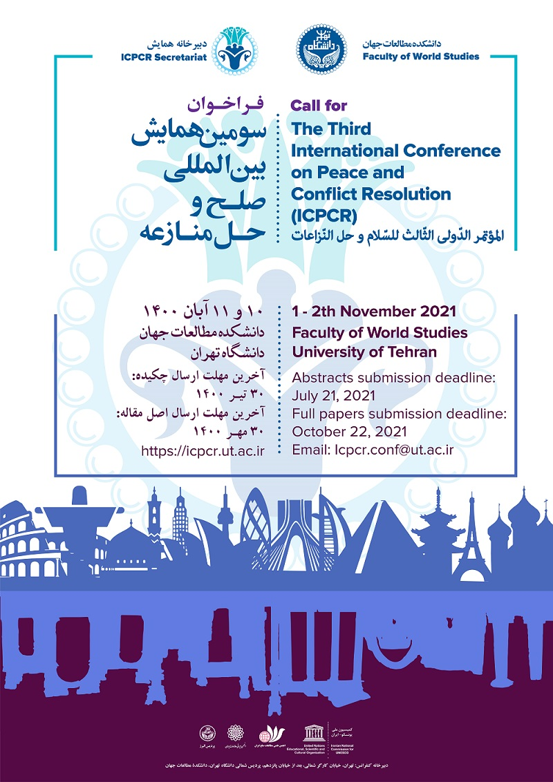 The Third International Conference on Peace and Conflict Resolution